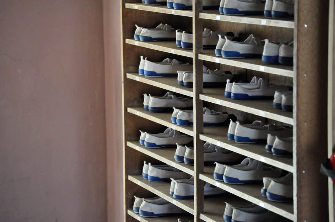 Pensez à un meuble pour les chaussures